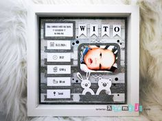 apitizers for party Baby Gift Hampers, Pram Toys, Diy And Crafts, Paper Crafts, Diy Shadow Box, Personalised Frames, Plant Art, Baby Cards, Homemade Gifts
