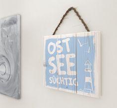 Wanddeko - Geschenk Mann, Maritim, Ostsee, Vatertag - ein Designerstück von Manufaktur-Kister bei DaWanda