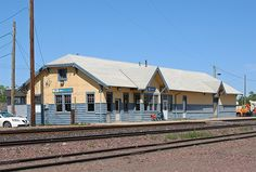 Our Amtrak depot in Malta, Montana. Photo taken by Flickr user, mwahlsten. Thanks for this photo!