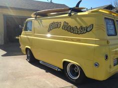 Time MAchine- First generation Ford Van with period-perfect styling.