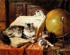 14-Chats dans l'art classique ( H.R.K)