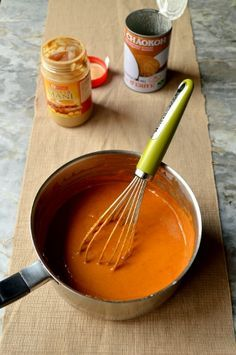 Thai Peanut Sauce--exactly like restaurant style sauce, and great with almost anything