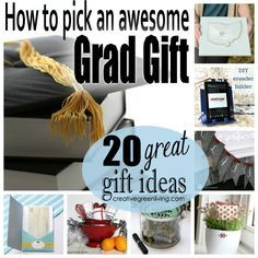 20 great graduation presents to make or buy - plus great tips on how to pick the best presents