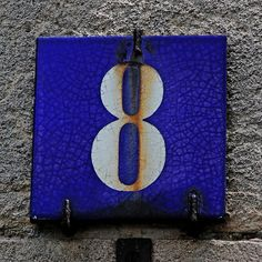 8 Lucky Number, Letter Photography, Healing Words, Gate Design, Paris, Letters And Numbers, 9 And 10, House Numbers