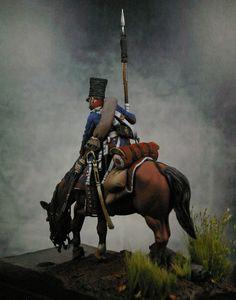 Polish Lancer on Campaign