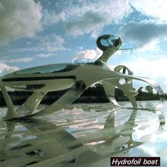 Luigi Colani - hydrofoil boat