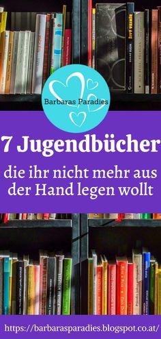 Diese 7 Jugendbücher willst du nicht mehr aus der Hand legen! Mehr erfährst du auf meinem Blog! Viel Spaß beim Stöbern!
