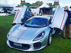 Feast Your Eyes On Italy's New Ferrari Supercar Rival