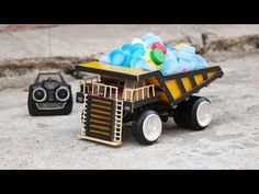 How to Make RC Dump Truck - YouTube
