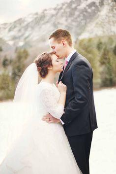 Wedding pics taken in Provo Canyon.