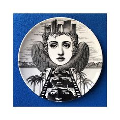 """""""The entrance to the Underworld."""" ________ Image RP of the day Plate __________ Piero Fornasetti, T Set, City Of Angels, Christmas 2016, Underworld, Barneys New York, Plates, Instagram Posts, Entrance"""
