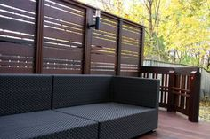 decking privacy screens | Delta Decks Toronto | Traditional