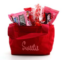 Another great & personal gift idea! Fill a Charlie's Lunchbox with your sweetie's favorite sweets this Valentine's Day! Also great for the kids!