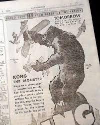 Σχετική εικόνα King Kong 1933, King Kong Vs Godzilla, Rey, The Beast, Monsters, Legends