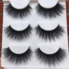 9c424e89560 09 New Hand Made Soft False Eyelashes 3D Exaggerated Cross Messy Thick Eye  Lashes Stage Performance
