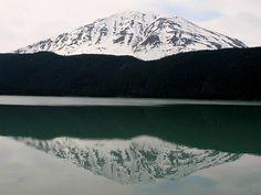 Reflection on Kenai Lake by Alaskan Dude, via Flickr