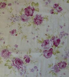 Rococo & Sweet  lila Rosen  Shabby Chic von SuesFabricNSupplies