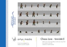 https://flic.kr/p/Dmg1T3 | Chaos Lore · Hammer brother 05 | Diferentes poses del personaje Hammer brother para el juego Chaos Lore realizado en Unity 3D.  Modelado con Trimble SketchUp.