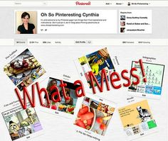 Friday Pinterest Quick Tip: How to Clean up Your Pinterest Account | Oh So Pinteresting