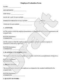 Do You Know Why Companies Use Employee Evaluation Forms Read Our