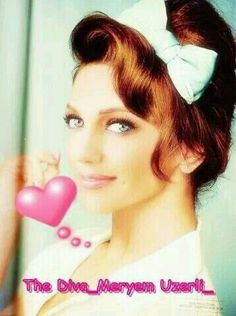 meryem uzerli very beauty woman