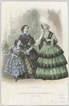 Le Journal des Dames et des Demoiselles, 1853 No. 35
