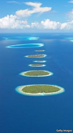The Maldives Atolls - Indian Ocean