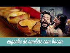 Cupcake de Omelete com Bacon | Cozinha para 2 - YouTube