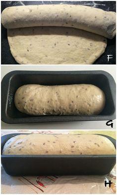 Ciabatta, Antipasto, Bread Baking, Hot Dog Buns, Biscotti, Italian Recipes, Cake Recipes, Food And Drink, Yummy Food