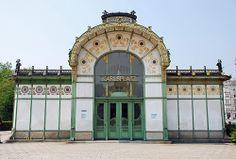 Karlsplatz Stadtbahn pavilion    Otto Wagner, 1894-1988