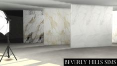 CALCUTTA MARBLE WALL SET at Beverly Hills Sims via Sims 4 Updates Check more at http://sims4updates.net/build-mode/calcutta-marble-wall-set-at-beverly-hills-sims/