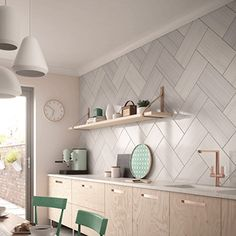 new brighton tide wall tiles. BCT luna grey wall tiles made in the uk. Order bathroom and kitchen tiles from uk bathroom solutions darlington. Kitchen Wall Tiles Design, Grey Kitchen Designs, Kitchen Tiles, Kitchen Decor, Simple Kitchen Design, Kitchen Cabinets, Easy Kitchen Updates, Updated Kitchen, New Kitchen