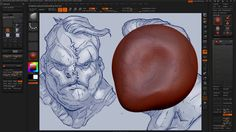 ZBrush 017 Concepting In ZBrush Image Plane on Vimeo