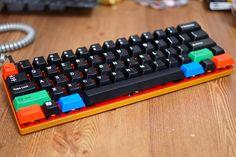 Apollo's custom keyboard works:  2TU Iron Man