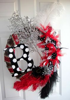 Christmas black, white and red beauty