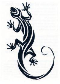 Gecko 1 Temporary Tattoo
