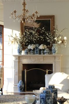 Blue and white collecting 101 and a giveaway! - The Enchanted Home