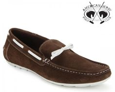 he neutral brown colour of these moccasins allows you to wear these shoes with jeans, chinos, cords and even shorts. Go for a contrast look with your outfit for the best and most current look.  The shoes have a suede upper for durability and comfort. They are lightweight with cushioned soles that allow you to wear them anywhere for long periods.