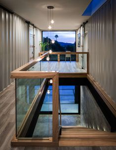 Shipping Container Homes & Buildings: Tw… - Container Häuser Cargo Container Homes, Shipping Container Home Designs, Building A Container Home, Storage Container Homes, Shipping Container Interior, 40ft Container, Container Home Plans, 40ft Shipping Container, Shipping Container Buildings
