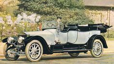 1912 Cabriolet by A. Mulliner used as a Midlands Trials Car (chassis 1801) for C. Ward Jackson