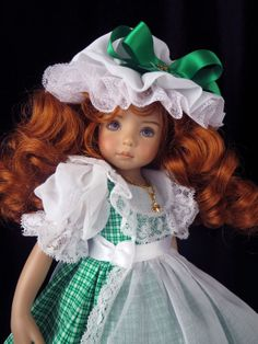 Irish! fts Effner 13, Little Darling; Betsy McCall. Little Charmers Doll Designs