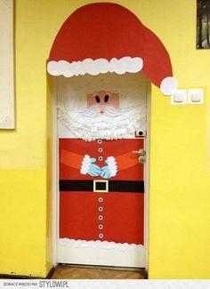 Świąteczna dekoracja drzwi Elf On The Shelf, Holiday Decor, Creative, Home Decor, Decoration Home, Room Decor, Home Interior Design, Home Decoration, Interior Design
