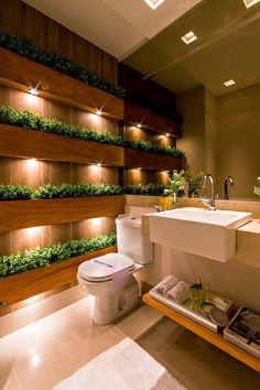 Badgestaltung Ideen Moderne Bader Badezimmer In Grau Weis Und Braun.  Badezimmer Deko Badezimmer Gestalten Mit Holz Und Pflanzen