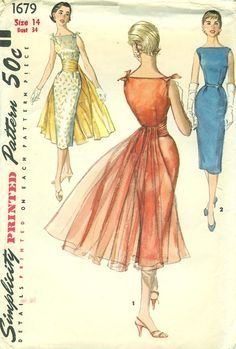 Simplicity 1679 Vintage Sewing Pattern