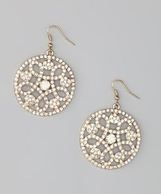 Take a look at this Gold Ornament Earrings by Bold22i on #zulily today!