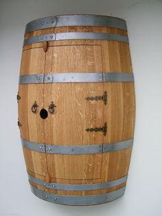 Barrique Weinfass Hängeschrank mit 1 Zwischenboden TOP Qualität Fass verleimt in Möbel & Wohnen, Möbel, Regale & Aufbewahrung | eBay!