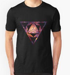 Sacred Geometry Space - geometric print tshirt by FutureThinkers #geometry #geometric #print #tshirt #apparel