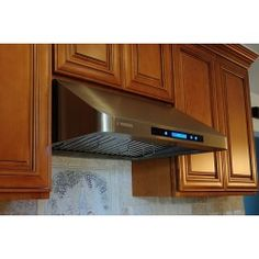 Stainless Steel Range Hood Hoods Vent Under Cabinet Kitchens Kitchen Stove Exhaust