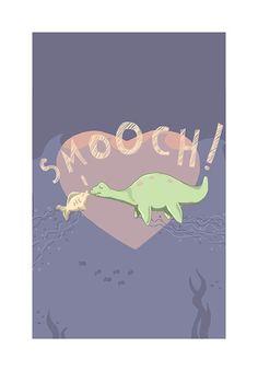 Children's Decor  Loch Ness Monster by MonsterBirthdayParty, $24.00