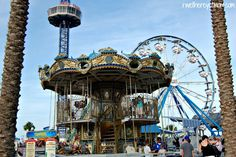 The Kemah Boardwalk, about 20 minutes south of downtown Houston, is a great place to spend the afternoon or evening with the entire family.